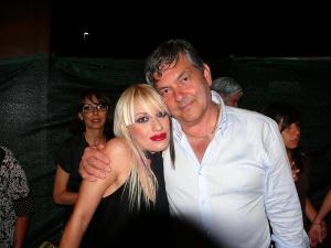 Monica Scalese con il presidente della pro loco Ettore Sterpetti_2008