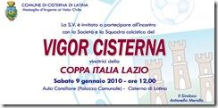 Vigor Cisterna_Invito