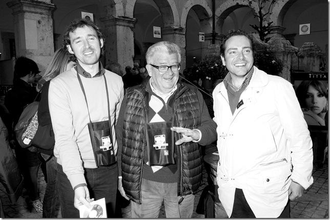 da sx:Gianni Isacco,Gildo Di Candilo,Sandro Di Mario