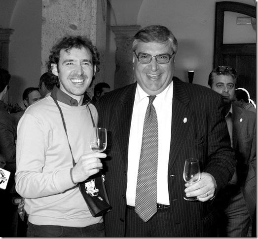 da sx: Gianni Isacco, Antonello Merolla